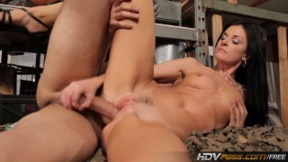 MILF babe India Summer rides dick like a champ