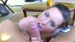 Tattooed gal Christy Mack gets nailed