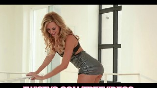 Big-tit Brett Rossi fists her tight pink pussy to amazing or...