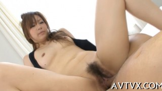 Stimulating Asian cowgirl riding