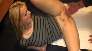 Insatiable blond milf loves fisting orgasms