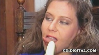 Christine Robbins - Filthy Secretary Milf Satisfying Herself