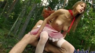 Little Red Riding Hood gets fucked hard