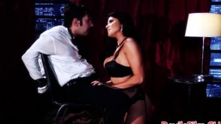 Big titted femdom deepthroating and fucking