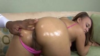 Ebony Babe Mone Divine Gets Pussy Filled With Cum