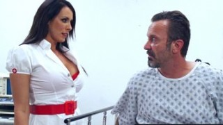 Brazzers - Doctor Adventures - Pushing For A New Prescription scene starring Reagan Foxx and Keiran Lee