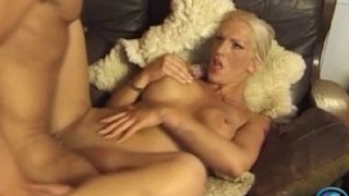 Busty Wild Angel got facialed after anal action