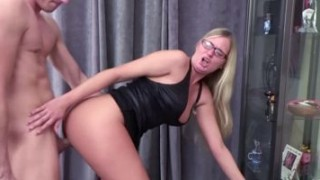 HOT GERMAN MILF Jacky Seduce Young Boy to Fuck and Facial Porn Videos